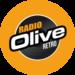 radio olive retro